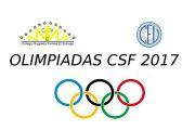 OLIMPIADAS CSF 2017