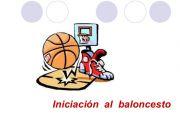 INICIACIÓN AL BALONCESTO 2017