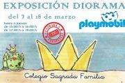 Exposición diorama PLAYMOBIL
